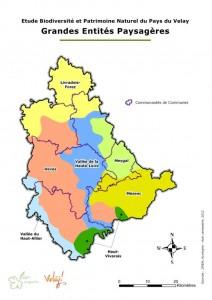 Grandes entités paysagères du Pays